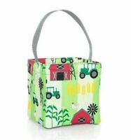 Thirty one Little carry-all Caddy utility mini tote bag 31 gift in Farm Fun
