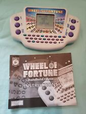 Wheel Of Fortune Handheld Game Second Edition Parker Brothers 2005  Tested Works