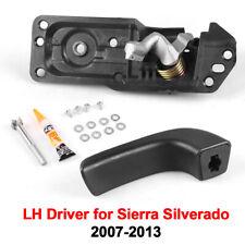 Car Door Handle Repair Kit Interior Inside LH Driver for 07-13 Sierra Silverado