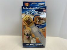 Pedi Paws Nail Trimmer for dogs & cats NIB