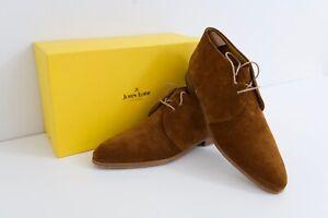 John Lobb Loxton Boots (w/ shoe trees)