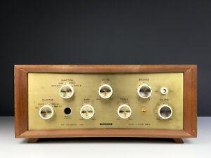 ROGERS HG-88 MkII Valve Amplifier in Teak Finish. 99p NR