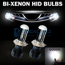 2pcs Bi-Xenon HID Bulbs H4 6000K Crystal White AC 35W Headlight Replacement Bulb