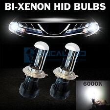 2pcs Bi-Xenon HID Bulbs H4 6000K Crystal White AC 35W Headlight Replacement Bulb