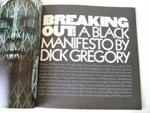 Avant Garde 6: Photographs Art, A Black Manifesto by Dick Gregory (January 1969)