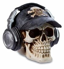 Katerina Prestige Figurine tete de mort Crane Gothique Casque Audio