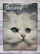 Vintage The Love of Cats Book Christine Metcalf 1973 1970's