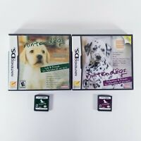 LOT OF 2 DS GAMES Nintendogs Lab & Dalmatian and Friends Nintendo DS