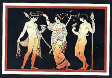 New Greek Post Card from Theatrical Performance in Ancient Greece, No : 1