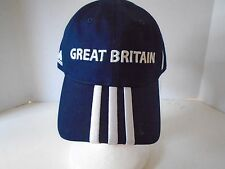 Adidas Great Britain Hat Cap Navy White Paralympics GB Snapback Closure Red
