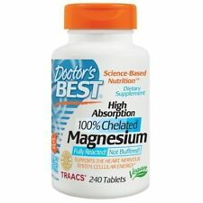 Doctor's Best High Absorption Magnesium 100mg 240 Tablets