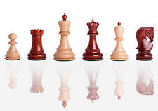 """USCF Sales The Zagreb '59 Luxury Chess Set - Pieces Only - 2.875"""" King - Blood R"""