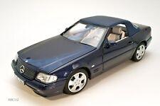 Mercedes  R129 SL 500 ph3 1/18 Norev bleue metallic 1/18