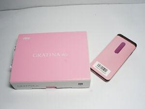 KYOCERA KYF37 GRATINA 2 WIFI KEITAI ANDROID FLIP PHONE PINK UNLOCKED JP KYF31