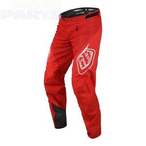 TLD Sprint pants red TLD MTB Downhill BMX DH Gear size 28-34