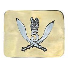 More details for highlander gurka 5  belt buckle