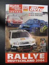 Auto Motor und Sport Extra Rallye Deutschland 2004