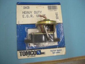 Tomco 10420 EGR Valve 1983 -85 MERCURY LYNX