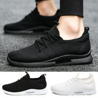 Mens Running Shoes Breathable Casual Tennis Sports Walking Athletic Sneakers US
