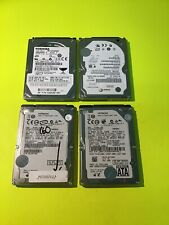 """Lot of 4 Assorted Brands 2.5"""" 160GB SATA HDD Hard Drive Tested & Wiped B2-Z3-e6"""
