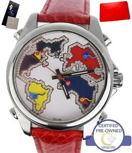 Jacob & Co. World Map Five Time Zone