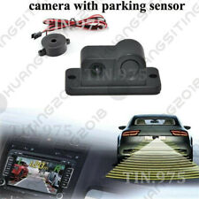 2in1 Car SUV Reverse Parking Radar & Rear View Backup 120° Wide Angle Camera WC1