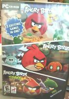 Angry Birds/Angry Birds Seasons/Angry Birds Space (PC, 2012) NIP