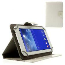 """Tablet Case/Schutz-Hülle - Universal 7"""" Zoll - Weiß Klapp-Tasche"""