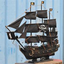 Nautique Navire Maquette De Voilier Bateau À Voile Pirates des Caraïbes en Bois