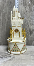 Lenox China Musical Figurines Jewels Collection - Castle - Rotating Music Box