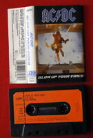 AC/DC BLOW UP YOUR VIDEO 1988 RARE EXYU CASSETTE TAPE