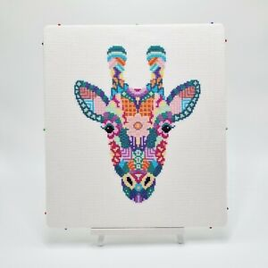 Mandala Giraffe Cross Stitch Pattern by Meloca Designs