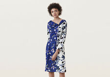 BNWT *Finery London* Casella off shoulder contrast floral dress 10