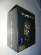 TERMINATOR GENISYS Sealed Steelbook Blu ray Gold Label  HDZeta One Click Box Set