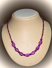 Jasper Purple Costume Necklaces & Pendants