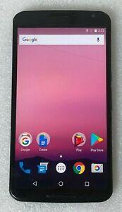 Nexus 6 - Midnight Blue 32GB - (Unlocked) Smartphone ~ HAIRLINE CRACKS