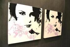 Deko-Bilder holzschnitte fürs Wohnzimmer