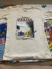 Vtg RARE 1988 The Legend of Zelda II Adventure LINK Nintendo T-Shirt SSI 80's L
