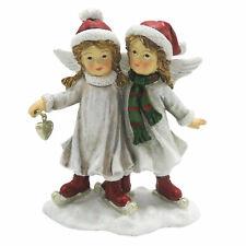 Winterkinder Engel Deko Figur Christmas Weihnachten Shabby Vintage 14cm