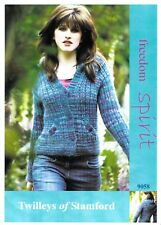 Twillley's of Stamford (Freedom Spirit) Knitted Hooded Jacket Pattern