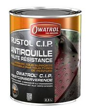 ANTIROUILLE HAUTE RESISTANCE RUSTOL CIP 2.5L CLIMAT MARIN VOITURE BALLAST BATEAU