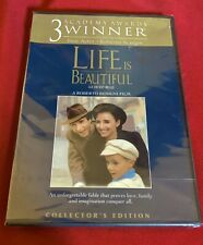 Life Is Beautiful (Dvd) {Brand New!} [Sealed] Fast Worldwide Shipping!