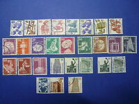 LOT 657 TIMBRES STAMP DIVERS ALLEMAGNE FEDERALE ANNEE 1971 - 1988