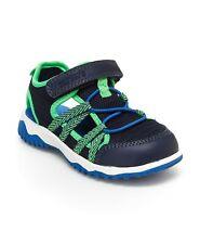 New Carter's Toddler Boys Blue/Green Monroe Sandal 9 10