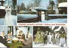 Czech Republic Postcard - Valasske Muzeum v Prirode - Roznov Pod - Ref AB2906
