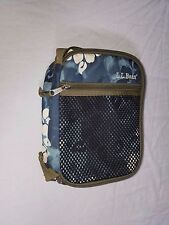 Vintage LL Bean Insulated Blue Floral Lunch Box