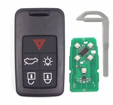 Remote Car Key Fob 433Mhz ID46 5 Button for Volvo S60 S80 XC60 FCC KR55WK49266