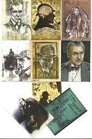 The Adventures of Sherlock Holmes complete base set + 3 diff. promos- 1 extra