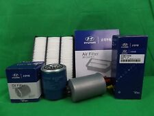 GENUINE HYUNDAI TERRACAN SUV HP 2.9L TD FILTER PACK (OIL + AIR + FUEL FILTER)