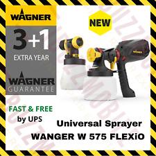 Wagner W 575 FLEXiO Universal  Paint Sprayer 630W Walls Wood Metal Ceiling Fence